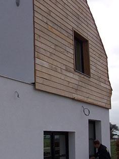 Isolation thermique par l'extérieur d'une maison dans le Nord