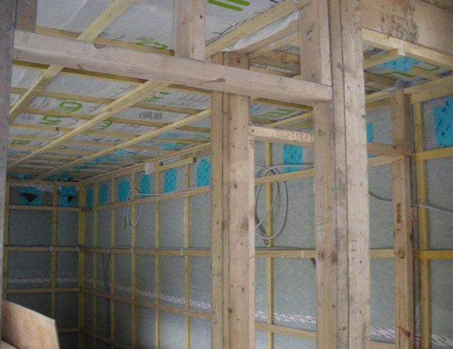 isolation extérieure d'une maison ossature bois