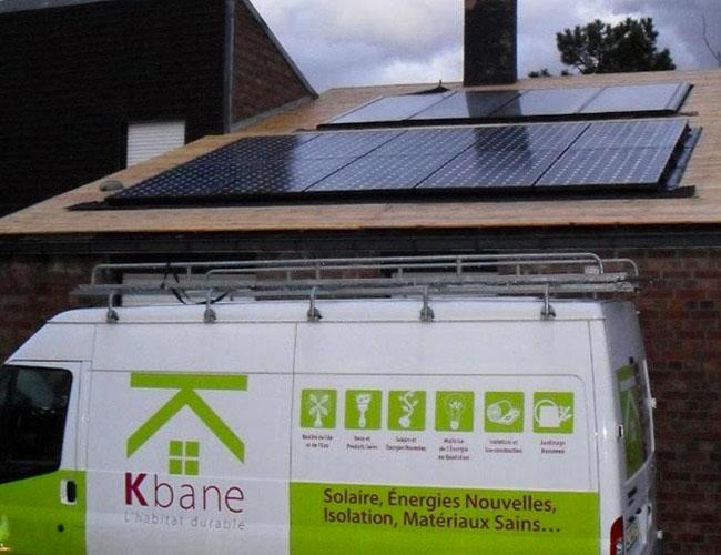 Installation de 10 panneaux solaires photovoltaïques