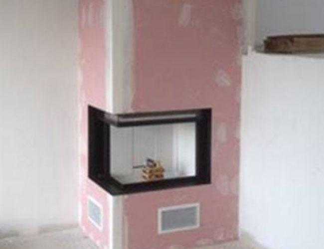Installation d'un foyer fermé MCZ Forma à Rouen