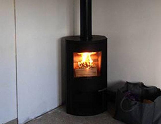 Installation d'un poêle bois Warm sur Lille