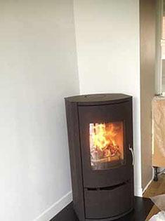 Installation poêle à bûches Warm 1 à Wasquehal
