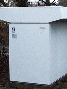 Installation d'une pompe à chaleur air eau à Bondues