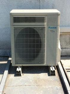 Installation d'une pompe à chaleur Daikin Altherma à Wasquehal