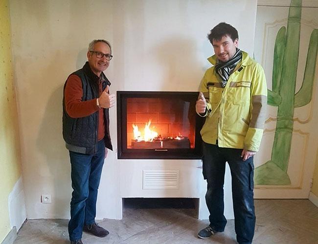 Rénovation de cheminée à Gennes-Ivergny (62)