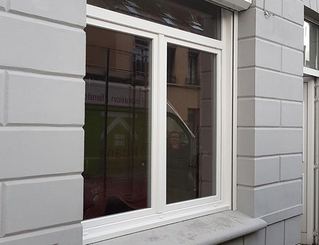 Rénovation d'une fenêtre PVC à Saint-Pol-sur-Mer