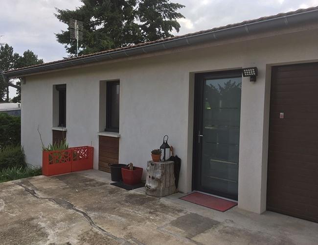 Rénovations de fenêtres et porte d'entrée en alu à Saint-Cyr-au-Mont-d'Or (69)