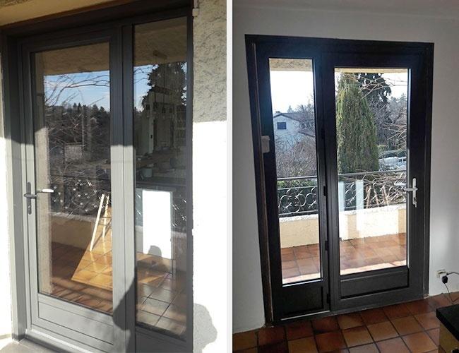 Rénovation de fenêtres en alu Domiot