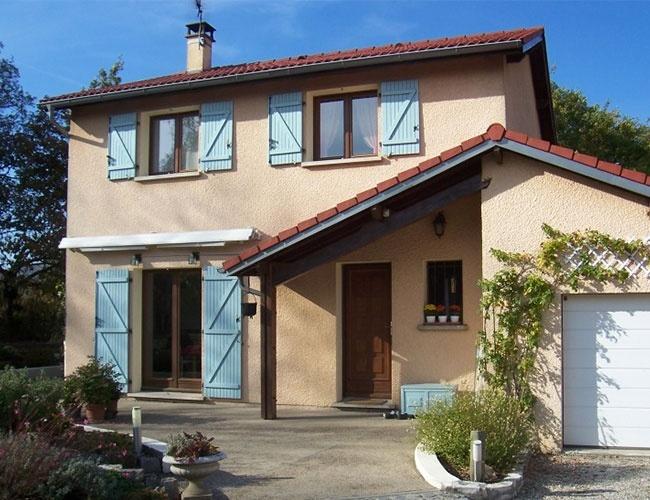 Rénovation d'une porte en acier et de fenêtres à Marcy l'Etoile (69)