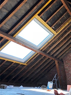 Rénovation et création de fenêtres de toit en PVC à Coudekerque-Branche (59)