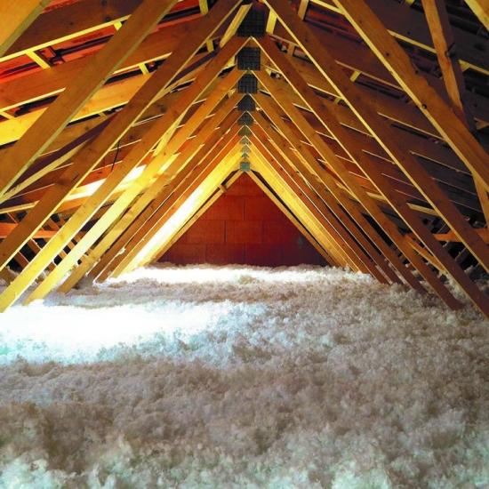 Isolation combles perdus Valenciennes en ouate de cellulose