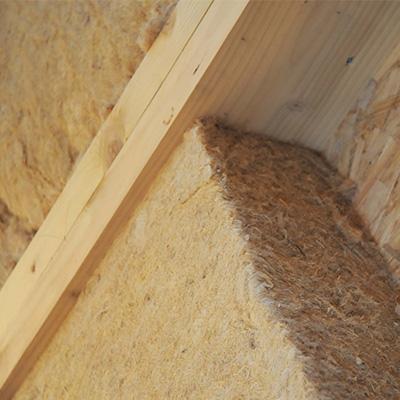 Aménagement des combles en laine de bois
