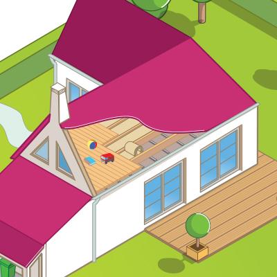 Isolation plancher et plafond entre étage